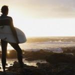 Surfer at Dusk