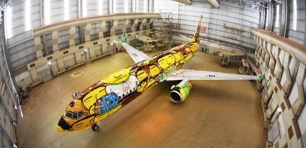 Avião da Copa Os Gêmeos