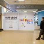 Painel da Copa Aeroportos SP