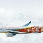 Avião da Copa Iberia