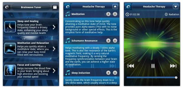Aplicativo Brainwave Tuner