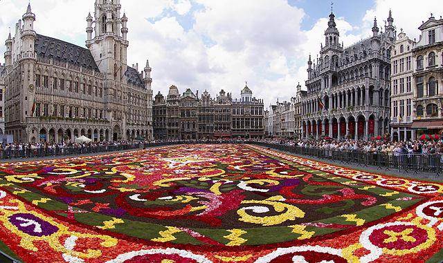 Tapete de Flores em Bruxelas