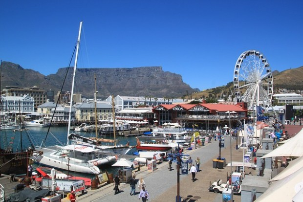 Cidade do Cabo, capital legislativa da África do Sul.