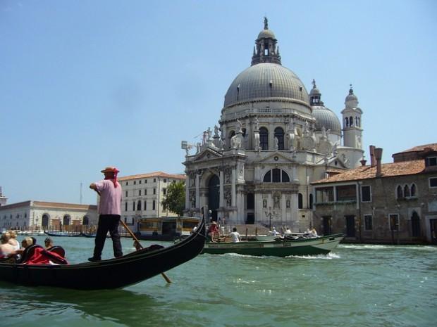 Cidade de Veneza na Itália.