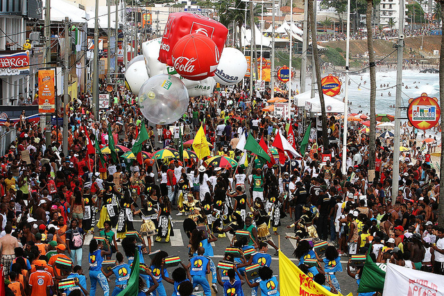 Carnaval 2011 - Olodum na Barra Foto: Mateus Pereira/AGECOM