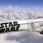 Image: JAPAN-US-ENTERTAINMENT-AIRLINES-ANA-STAR WARS