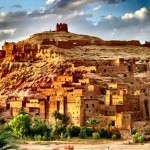 """Foi também em Marrocos onde aconteceu as gravações da série """"Game of Thrones"""", em  Aït-Ben-Haddou"""