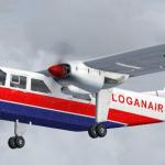 Reprodução/Loganair