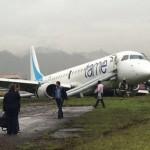 Jato foi rapidamente evacuado e não houve feridos / Reprodução/The Aviation Herald