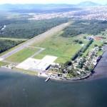 Local de construção do aeroporto de Guarujá / Pedro Rezende / Prefeitura de Guarujá
