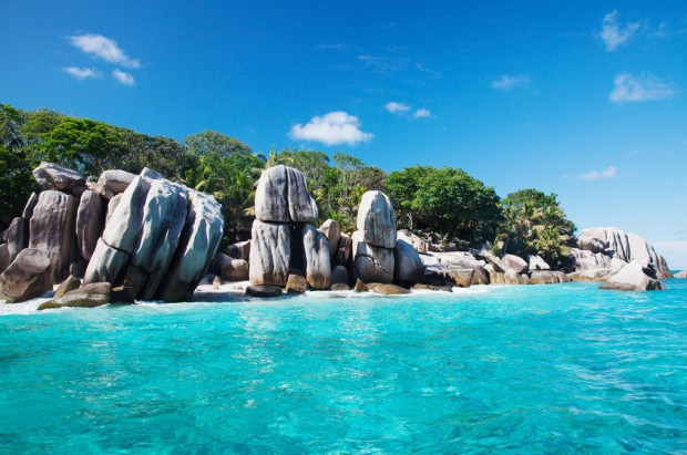 le Coco é uma pequena ilha próxima a La Digue / Jean-Marie Hullot/Flickr/Com CC