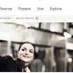 O website da aérea fornece todas as informações para os deficientes que realizarão uma viagem com a companhia / Reprodução