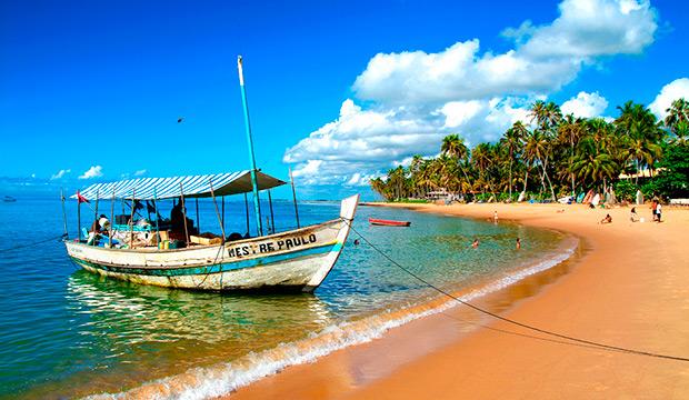 Já aqui no Brasil, um dos destinos nordestinos mais procurados é a Praia do Forte, na Bahia