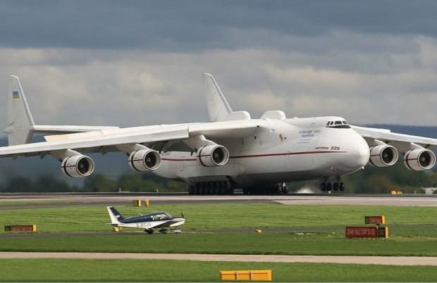 Nem A380, nem Boeing 747. O maior avião do mundo é o ucraniano Antonov AN-225