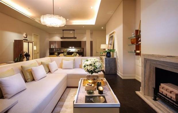 Na parte residencial, a construção tem apartamentos que vão de US$1 milhão a US$17 milhões