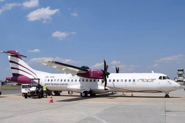 Rota retomada decolou com 19 passageiros