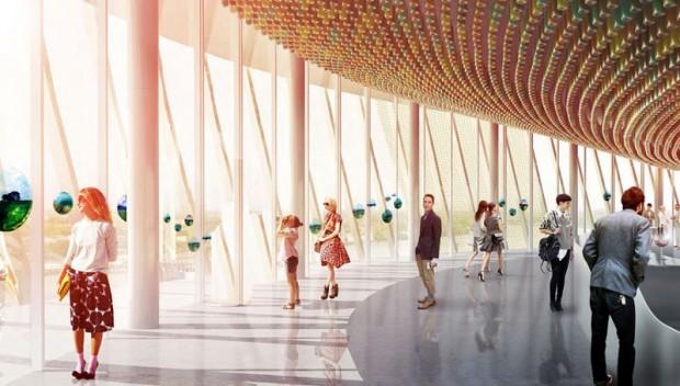 Quem prestigia atração, tem direito a taça de vinho com vista de 360º para a cidade francesa