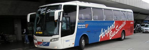Airport Bus Service Guarulhos Airport Gru Brazil