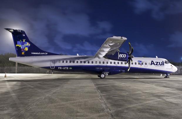 Azul planejaria operar em Montevidéu com uma frota de até oito aviões Embraer